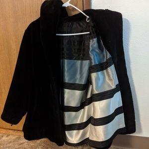 Jackets & Blazers - Vintage Faux Fur Coat-silk lining